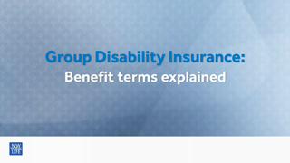 Group Disability Insurance Terms Explained